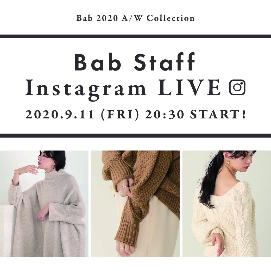 Bab Insta Live[09.11]!